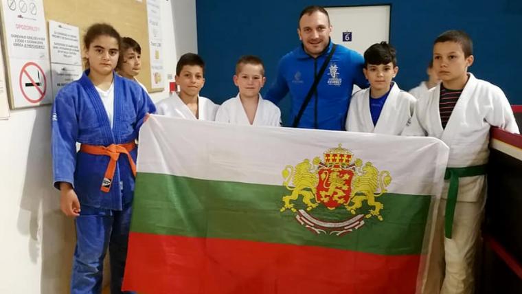 Покорихме и Любляна – 4 медала на турнира Bežigrad Open